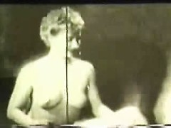 Perky tits and a hairy bush are irresistible in a 50 year old hardcore video