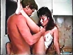 Amazing retro homemade porn with brunette amateur wife fucked hard