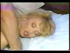 Vintage anal porn with a super hot blonde with big tits taking it up the ass
